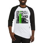 Original Muscle Car Green Baseball Jersey