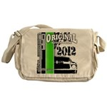 Original Muscle Car Green Messenger Bag