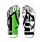 Original Muscle Car Green Flip Flops