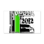 Original Muscle Car Green 22x14 Wall Peel