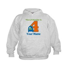 4th Birthday Monster Hoody