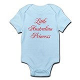 Little Australian Princess Onesie