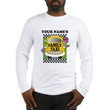 Personalized Family Taxi Long Sleeve T-Shirt