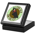 ICT,CYF Black Palm Cockatoo Keepsake Box