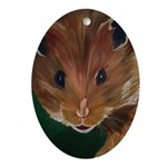 Churchmouse Oval Ornament