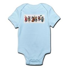 Jazz Cats In the Snow Infant Bodysuit