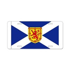 St. Andrews Cross Royal Aluminum License Plate