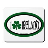 I Love Ireland 2 Mousepad