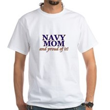 Navy Mom & proud of it! Shirt