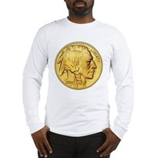 Wy-Gold Indian/Buffalo Long Sleeve T-Shirt