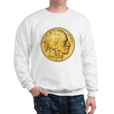 Wy-Gold Indian/Buffalo Sweatshirt