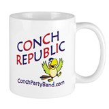 Conch Republic (Party Band) Mug