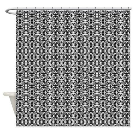 Black And White Shower Curtains - Simple Contemporary Styles For