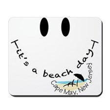 It's A Beach Day in Cape May, Mousepad