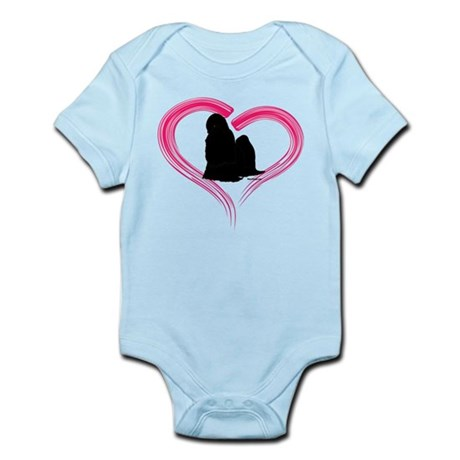 Heart My Shih Tzu Infant Bodysuit