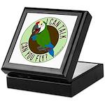 ICT,CYF Military Macaw Keepsake Box