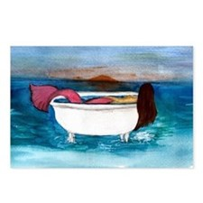 Bath Tub Mermaid Postcards (Package of 8)