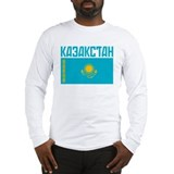 Kazakhstan Long Sleeve T-Shirt