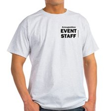 Armageddon Event Staff Ash Grey T-Shirt