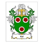 Kol Coat of Arms Small Poster