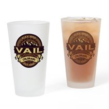 Vail Sepia Drinking Glass