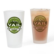 Vail Green Drinking Glass