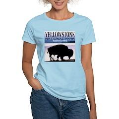Yellowstone NP Established 18 Women's Pink T-Shirt