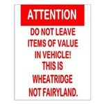 Not Fairyland Small Poster