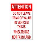 Not Fairyland 22x14 Wall Peel
