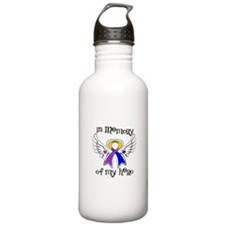 In Memory Bladder Cancer Water Bottle