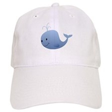 Little Blue Whale Baseball Cap