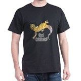 Gecko Black Got Crickets T-Shirt II