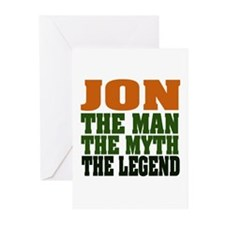 JON - The Legend Greeting Cards (Pk of 20)