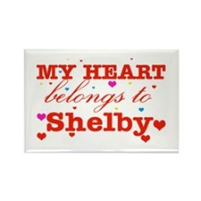 I love Shelby Rectangle Magnet (100 pack)