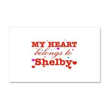I love Shelby Car Magnet 20 x 12