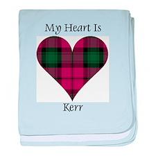 Heart - Kerr baby blanket