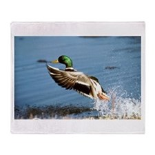 Mallard Moving On Throw Blanket