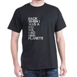 When I Was A Kid, Planets T-Shirt