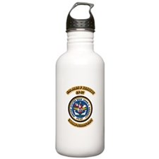 US - NAVY - USS John F Kennedy - CV-67 Water Bottle