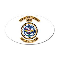 US - NAVY - USS John F Kennedy - CV-67 38.5 x 24.5