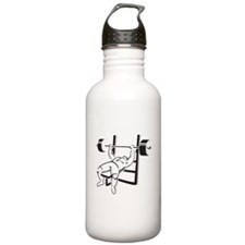 Powerlifting Bench Press Water Bottle