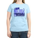 I Wear Light Blue 6.4 Prostate Cancer T-Shirt
