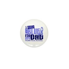 I Wear Light Blue 6.4 Prostate Cancer Mini Button