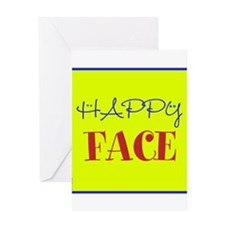OYOOS Happy Face design Greeting Card