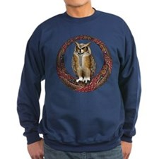 Celtic Owl Sweatshirt