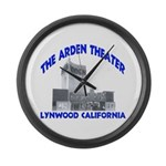 Arden Theater Large Wall Clock