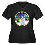 XmasMusic 3/Am Eskimo #3 Women's Plus Size V-Neck