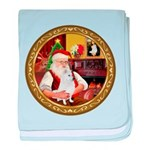 Santa's Am Eskimo #5 baby blanket