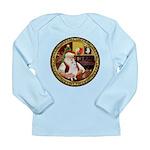 Santa's Am Eskimo #5 Long Sleeve Infant T-Shirt