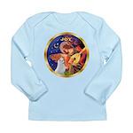 Angel3/Am Eskimo #3 Long Sleeve Infant T-Shirt
